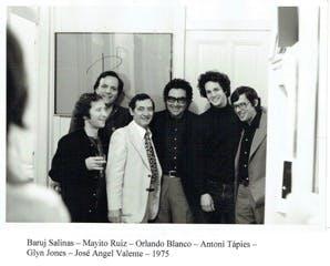 Baruj Salina, Mayito Ruiz, Orlando Blanco, Antoni Tápies, Gilym Jones et José Angel Valente - 1975