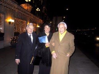 Zao Wou Ki avec Orlando et Dolores Blanco