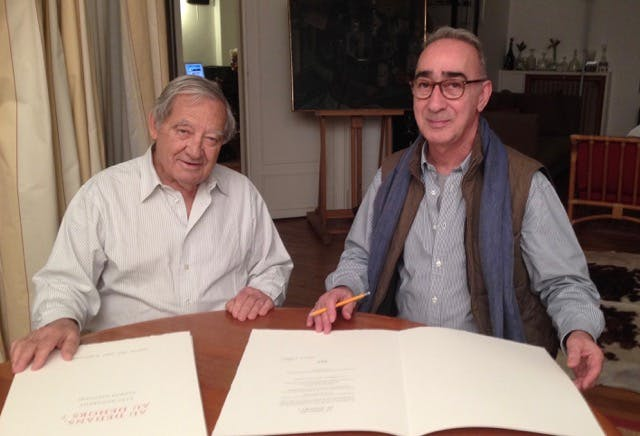 Orlando Blanco et Farhad Ostavani