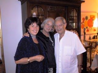 Roberta Sutherland avec Dolores et Orlando Blanco