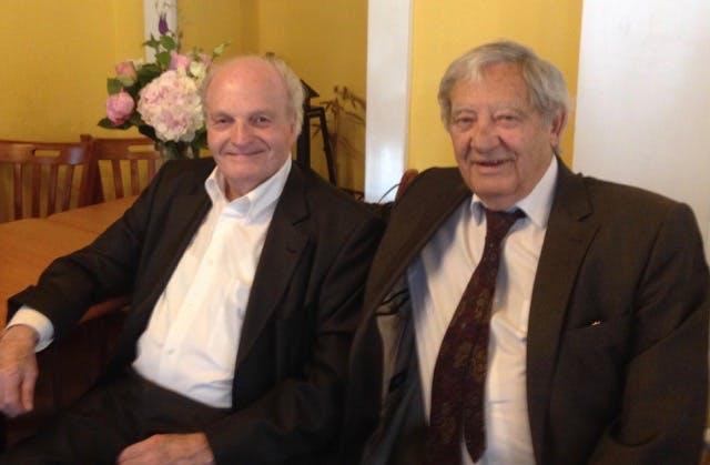 Vahé Godel et Orlando Blanco